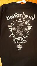 Motörhead 2015 European Tour T SHIRT size XL ,40th Anniversary Tour