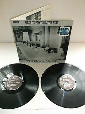 JEFFERSON AIRPLANE-TAKES OFF/BLESS.. RARE 1ST PRESS N/M VINYL DOUBLE LP RECORD
