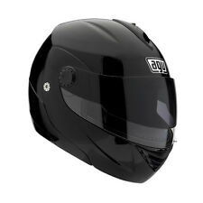 AGV Miglia II Modular Motorcycle Helmet (Black) Choose Size