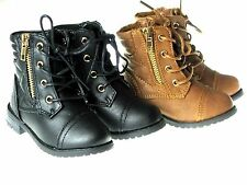 New Baby Toddler Girls Fashion Dress Up Ankle Boots Shoes Size 4-8