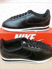 nike womens classic cortez leather trainers 807471 009 sneakers shoes