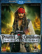 Pirates of the Caribbean: On Stranger Tides (Blu-ray 2011) DVD NOT INCLUDED