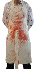 HALLOWEEN/Evil/Creepy/Panto/Fancy Dress/ GRUESOME HORROR APRON & FAKE BLOOD TUBE