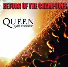 QUEEN / PAUL  RODGERS - RETURN OF CHAMPIONS (IMPORT) NEW CD