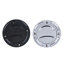 Motorcycle Round Gas Fuel Tank Cover Cap For Harley Dyna CVO Softail Sportster