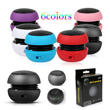 Portable Mini Computer Speaker Hamburger For MP3 & MP4 Player Sony PSP Notebook