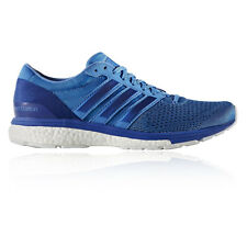 Adidas Adizero Boston Boost 6 Womens Blue Cushioned Running Shoes Trainers