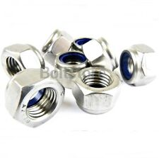 Nyloc Nuts Stainless Steel Lock Nut Nylon Insert A2 M3