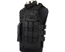 Airsoft Paintball Wargame Tactical Combat Assault Vest 2 Colors Black/OD A