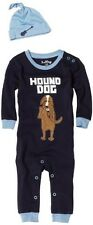 Hatley Baby Boys' Dogs Of Rock Coverall And Hat