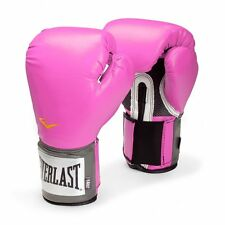 Everlast Womens Pro Style Training Boxing Gloves Pink 8 oz Fitness Punching