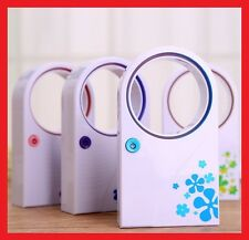 Mini Portable USB Handheld Fan Bladeless Desktop Air Conditioner NO Leaf Cooler