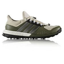 Adidas Adistar Raven Boost Mens White Green Cushioned Running Sports Shoes