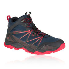 Merrell Capra Rise Mid Mens Trail Water Resistant Outdoors Walking Boots