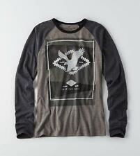 American Eagle Outfitters AEO Graphic Long Sleeve T-Shirt Tee