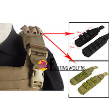 Molle Shoulder Pads for Armor Carrier Tactical Military Vest 6094 Airsoft 1000D
