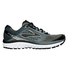 Men's Brooks Ghost 9 Running Shoes Grey Black Many Sizes #848 Brand New in Box
