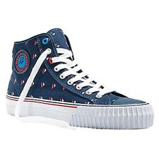 PF FLYERS PM14OH7B ROLLAND BERRY CENTER HI Mn's (M) Navy Canvas Casual Shoes