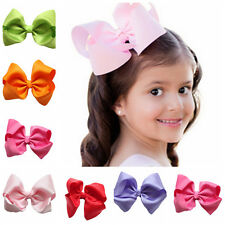 Girls Hair Bow Ribbon Bows With Clip HairClip Hairpin Hair Accessories