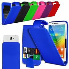 For Orange San Diego - Clamp Style PU Leather Flip Case Cover