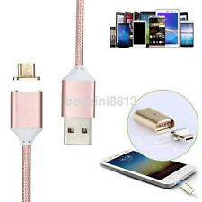 1M Micro USB Magnetic Charging Data Sync Cable Charger for Android Smart Phone K