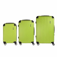 """Lightweight Small 20"""" Wheeled Hand Luggage Trolley Cabin Flight Zip Bag Suitcase"""