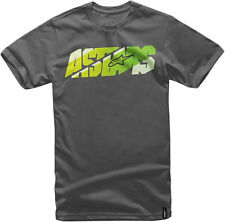 ALPINESTARS BARS Short Sleeve Tee T-Shirt (Charcoal) Choose Size