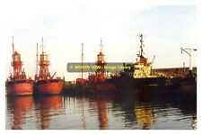 rp11862 - Lightships at Pounds Shipbreakers in 1995 Portsmouth - photo 6x4