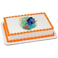Finding Dory Edible Cake OR Cupcake Toppers Decoration (Nemo, Ocean, Fish)