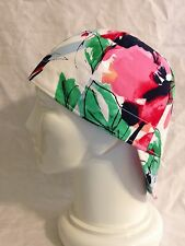 Welding Hat Welders Cap Painter's Hat Painters Cap - Watercolor Floral