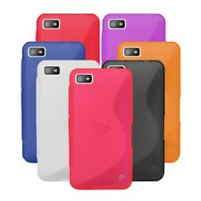 Slim Fit S-Line Wave Series TPU Silicone Gel Case Cover Skin for BlackBerry Z10