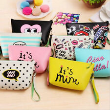 Fashion Travel PU Cosmetic Makeup Bag Toiletry Organizer Storage Case Pouch hs