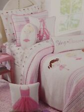 Authentic Kids Sing Dance Play Twin or Full Quilt Bed Set NIP