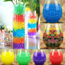 10bags Jelly Beads Water Plant Flower Crystal Soil Mud Water Pearls Gel Balls PE