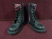 New Authentic Girl's Skechers Truffles Boots  Black/Pink  87941L ( H 9 )