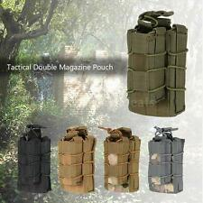 Tactical Double Magazine Mag Pouch Military Gear Hunting Bag Accessory Cool J1X5