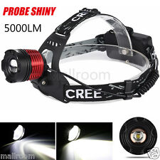 5000LM CREE XM-L XML T6 LED Headlamp Headlight flashlight Stirnlampen 18650