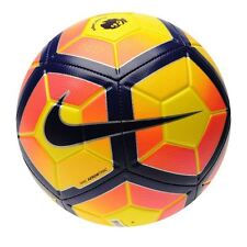 Nike Premier League Football, Nike Strike 2017 Football - Hi Vis Yellow Purple