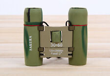 Outdoor Travel 30 x 60 Zoom Folding Day Night Vision Binoculars Telescope + Bag
