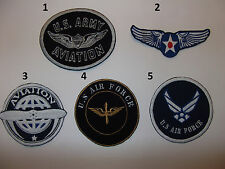 U.S. Army Aviation patches , vintage aviation patches , Air Force large PATCHES