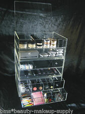 Acrylic Makeup Organizer Drawers Customized Stackable Cosmetic Storage Box |