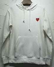 Men's Comme Des Garcons CDG Play Cotton cute heart Sweater Play Coat 3color