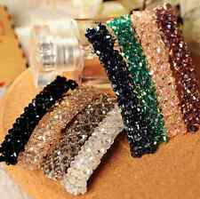 Fashion Women Girls Bling Crystal Rhinestone Hair Clip Barrette Hairpin Headwear