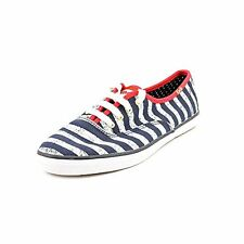 NEW Keds Champion Stripes Navy Lace On Fashion Sneakers