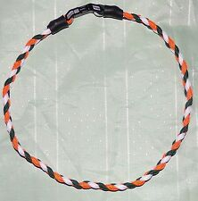 MIAMI  HURRICANES - PARACORD NECKLACE or BRACELET