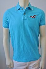 Hollister by Abercrombie Men's River Jetties Tipped Pique Polo Shirt NwT Medium