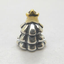 Authentic Genuine Sterling Silver CHRISTMAS TREE CHARM Bead Christmas gift