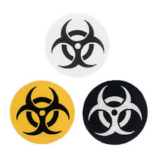 Biohazard Toxin Danger Warning Resident Evil Zombie Iron / Sew On Patch Applique
