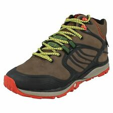 MENS MERRELL VERTERRA MID WATERPROOF LEATHER LACE OUTDOOR WALKING HIKING BOOTS