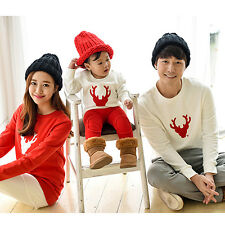 Christmas Family Look Deer Mommy and Me Clothes Matching Family Clothing Sets WG